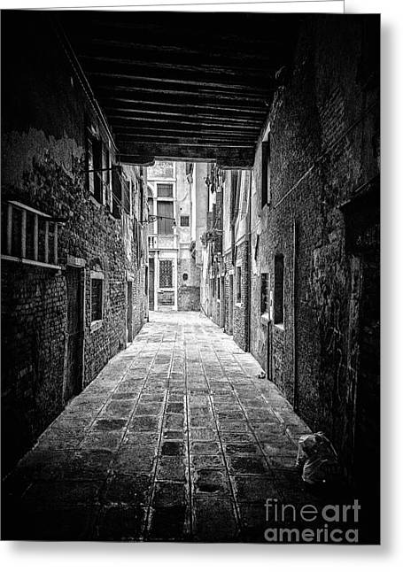 Entranceway Greeting Cards - Venice Greeting Card by Traven Milovich