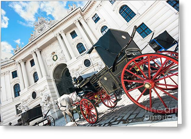 Old Vienna Greeting Cards - Vienna Greeting Card by JR Photography