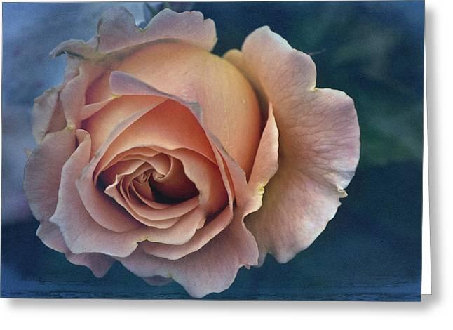 Cards Vintage Greeting Cards - Vintage Rose Greeting Card by Richard Cummings