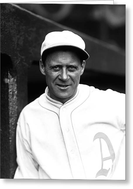World Series Greeting Cards - Walter H. Wally Schang Greeting Card by Retro Images Archive