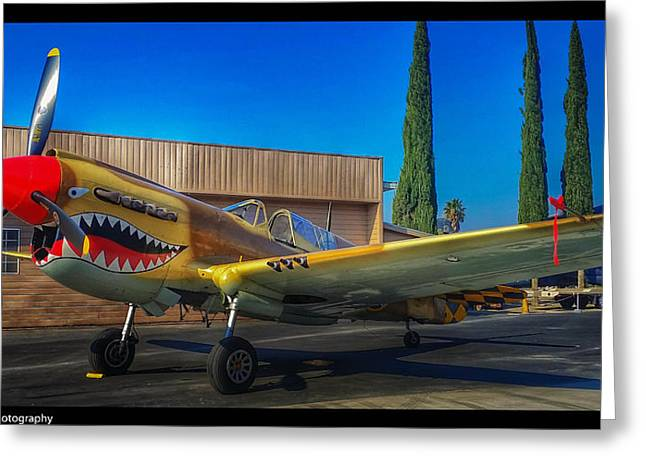 Fame Greeting Cards - Warhawk Greeting Card by Tommy Anderson
