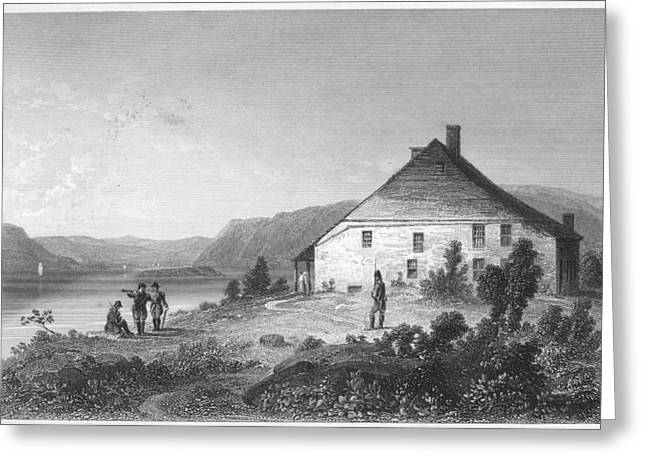 1782 Greeting Cards - Washington: Headquarters Greeting Card by Granger