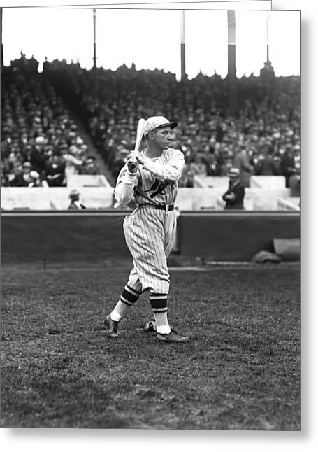 Fielder Greeting Cards - William H. Billy Southworth Greeting Card by Retro Images Archive