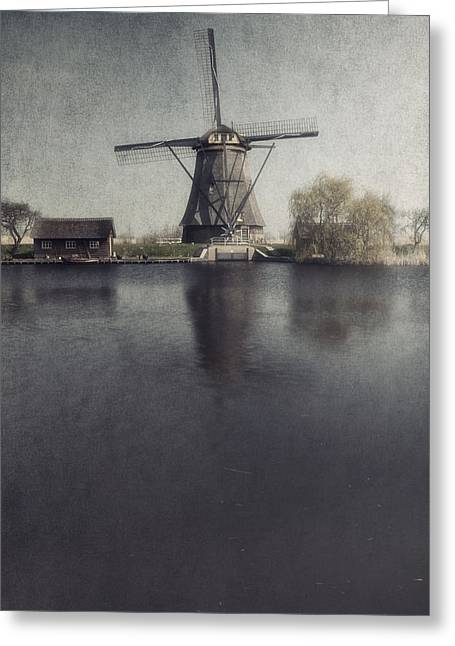 Water Mill Greeting Cards - Windmill  Greeting Card by Joana Kruse