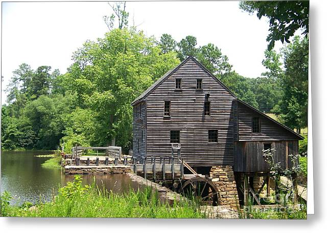Kevin Croitz Greeting Cards - Yates Mill Greeting Card by Kevin Croitz