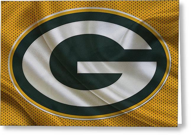 Green Bay Greeting Cards - Green Bay Packers Greeting Card by Joe Hamilton