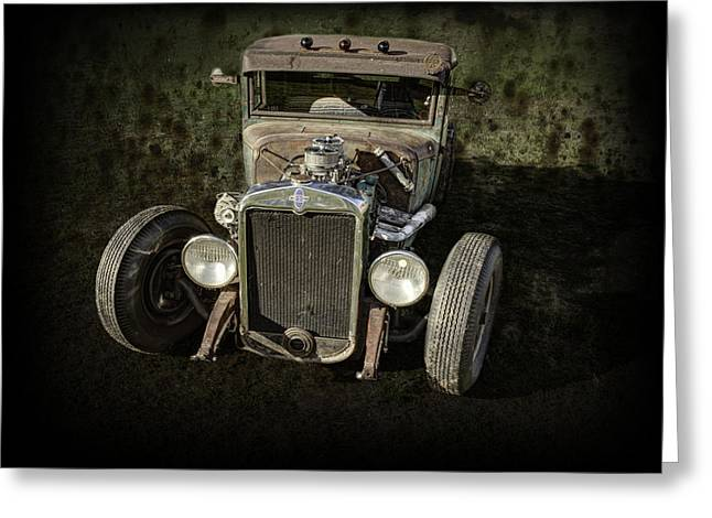 Thomas Young Photography Greeting Cards - 31 Chevy Rat Rod Greeting Card by Thomas Young