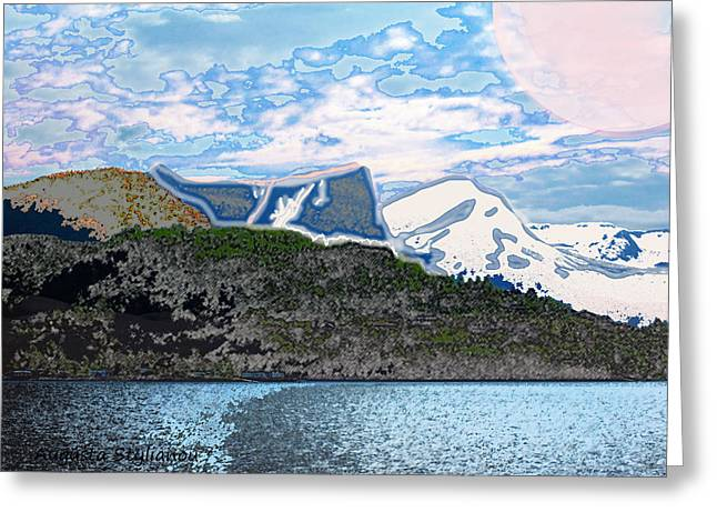 Norway  Landscape Greeting Card by Augusta Stylianou