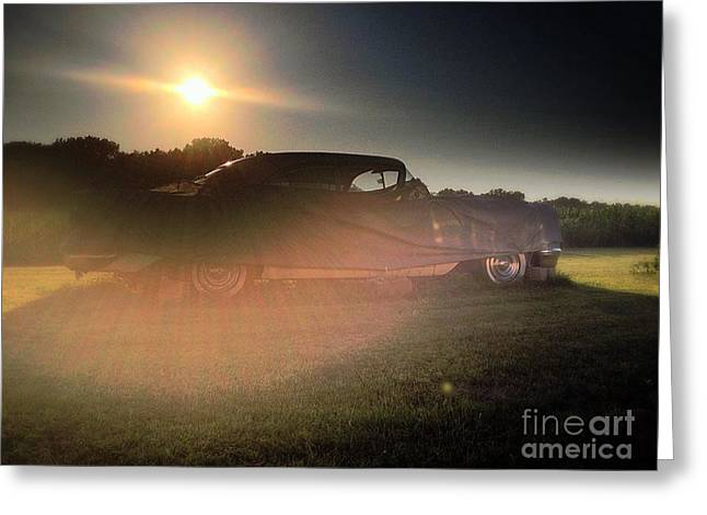 322 Olds Ghost Greeting Card by Garren Zanker