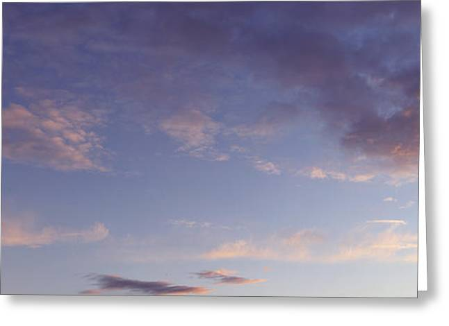 Dramatic Sky Greeting Cards - Bright sky  Greeting Card by Les Cunliffe