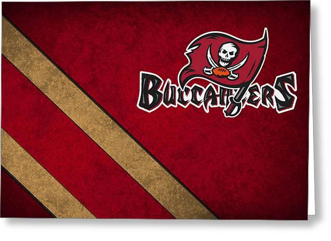 Buccaneer Greeting Cards - Tampa Bay Buccaneers Greeting Card by Joe Hamilton