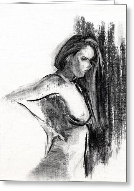 Pencil Greeting Cards - RCNpaintings.com Greeting Card by Chris N Rohrbach