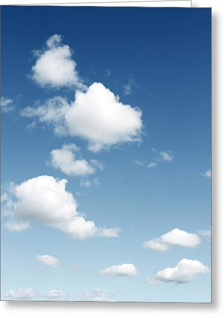 Day Summer Greeting Cards - Clouds Greeting Card by Les Cunliffe