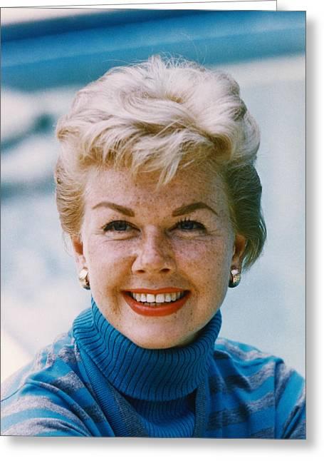 Doris Day Photographs Greeting Cards - Doris Day Greeting Card by Silver Screen