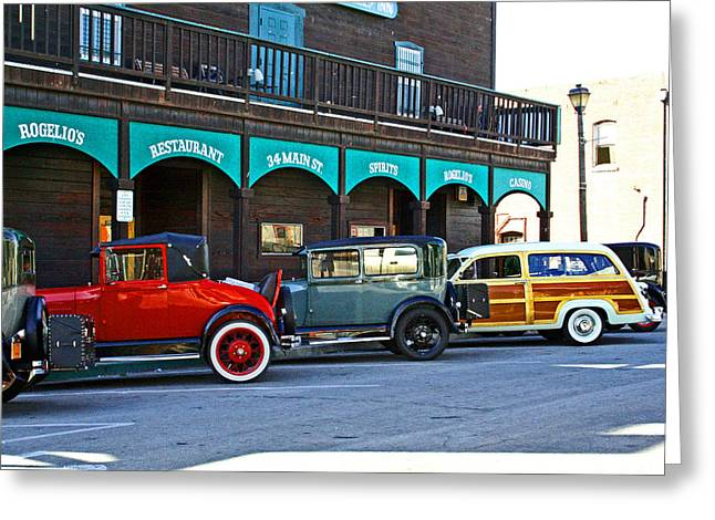 T Street Beach Greeting Cards - 34 Main St Isleton Greeting Card by Joseph Coulombe