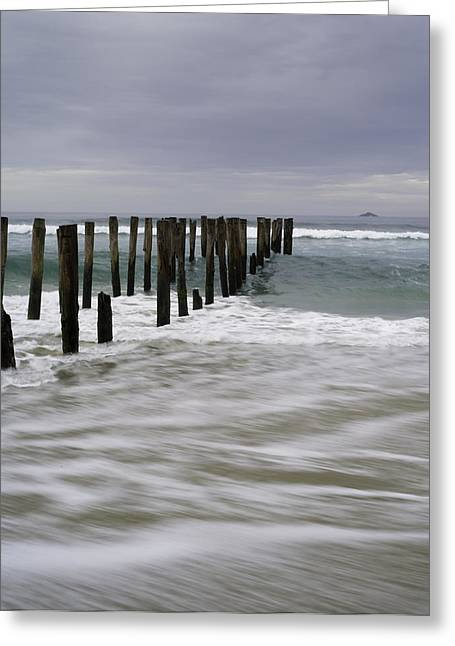 Ocean Images Greeting Cards - St. Clair Beach Greeting Card by Tim Mulholland
