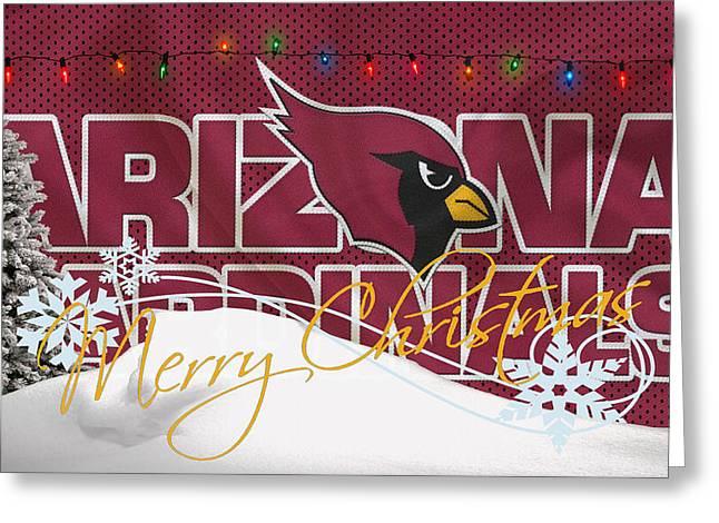 Cardinals Greeting Cards - Arizona Cardinals Greeting Card by Joe Hamilton