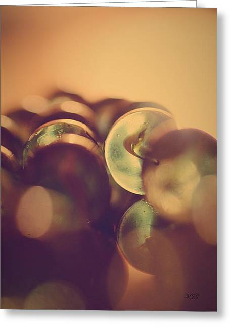 Marble Eye Greeting Cards - Marbles3 Greeting Card by Michael James Greene