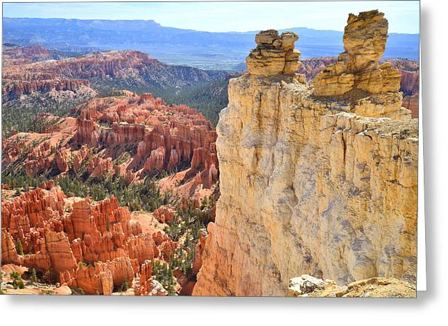 Inspiration Point Greeting Cards - Bryce Canyon Greeting Card by Ray Mathis