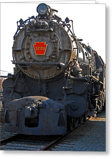 Train Rides Greeting Cards - 3750 Greeting Card by Skip Willits
