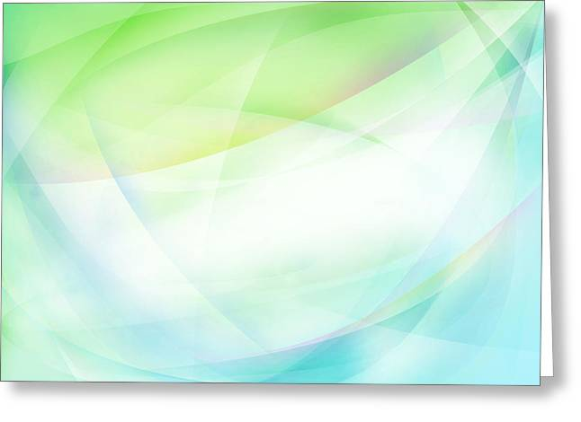 Blended Images Greeting Cards - Abstract background Greeting Card by Les Cunliffe