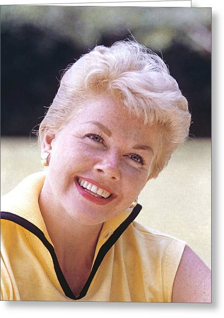 Doris Day Greeting Cards - Doris Day Greeting Card by Silver Screen