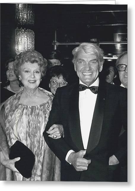 Ambassador Greeting Cards - Ambassador Richard Helms Greeting Card by Retro Images Archive