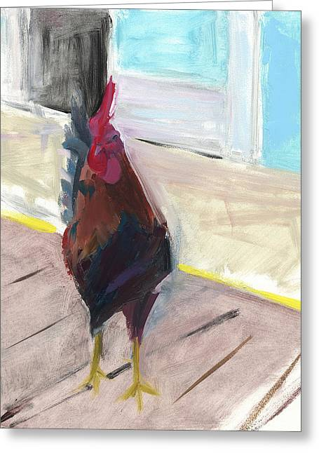 Key West Paintings Greeting Cards - RCNpaintings.com Greeting Card by Chris N Rohrbach