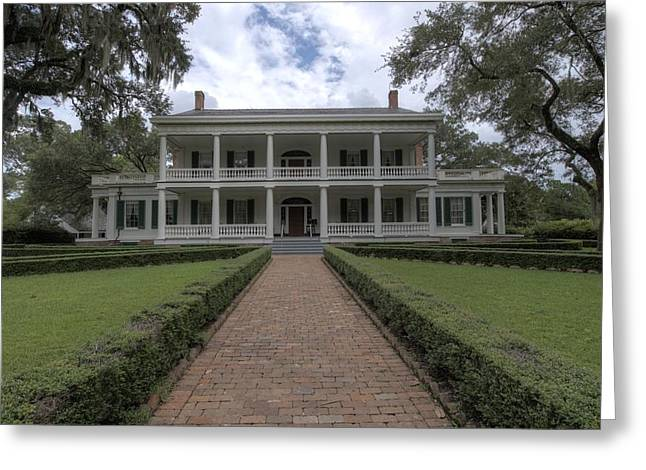 Rosedown Plantation Greeting Card by Photo Advocate