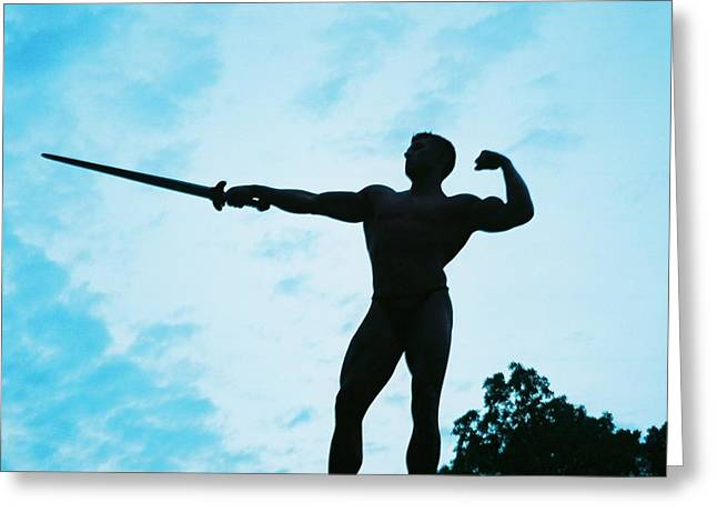 Stock Photography Muscle Digital Art Greeting Cards - The Art of Muscle Greeting Card by Jake Hartz