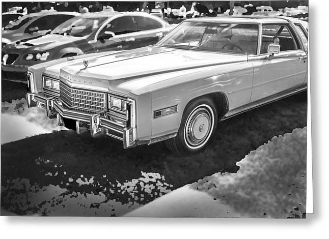 1978 Cadillac Eldorado Greeting Card by Rich Franco