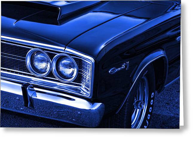 Bad Ass Greeting Cards - 66 Dodge Coronet 500 Greeting Card by Gordon Dean II
