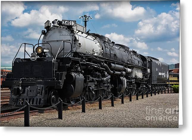 4-8-8-4 Big Boy Locomotive Greeting Card by Gary Keesler