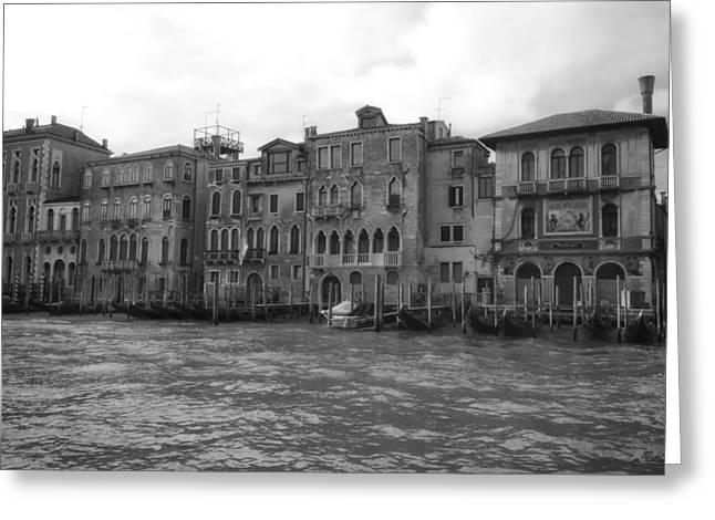 Historic Home Greeting Cards - A Day in Venice Greeting Card by Mountain Dreams