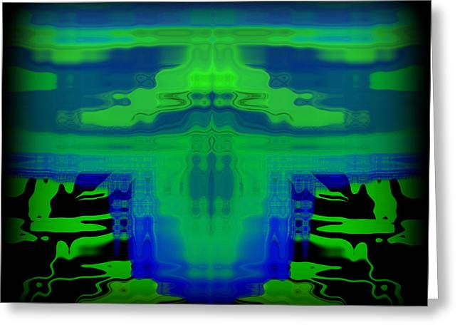 Contrast Greeting Cards - Abstract 101 Greeting Card by J D Owen