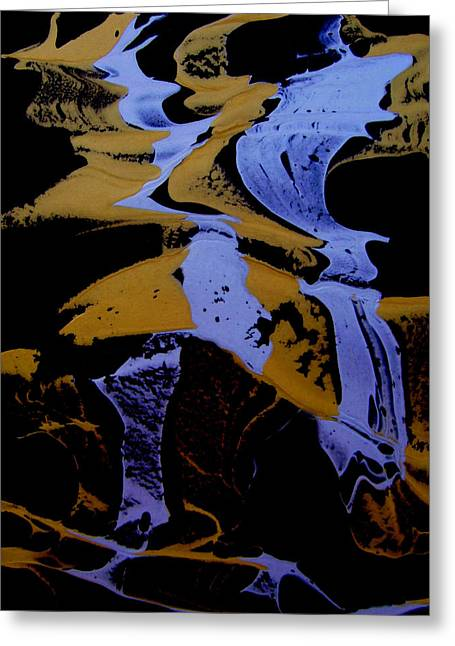 Mysterious Greeting Cards - Abstract 37 Greeting Card by J D Owen