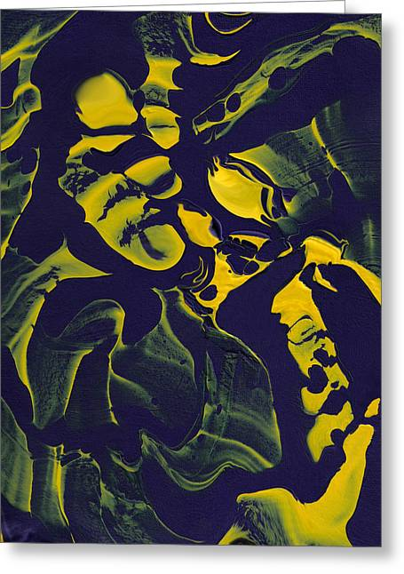 Abstract 62 Greeting Card by J D Owen