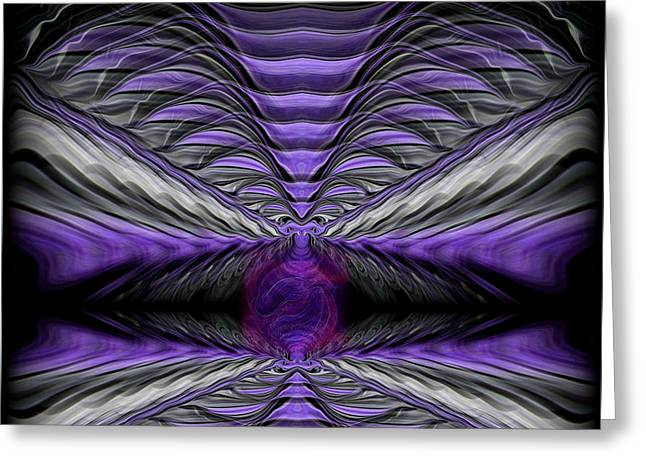 Contrast Greeting Cards - Abstract 75 Greeting Card by J D Owen