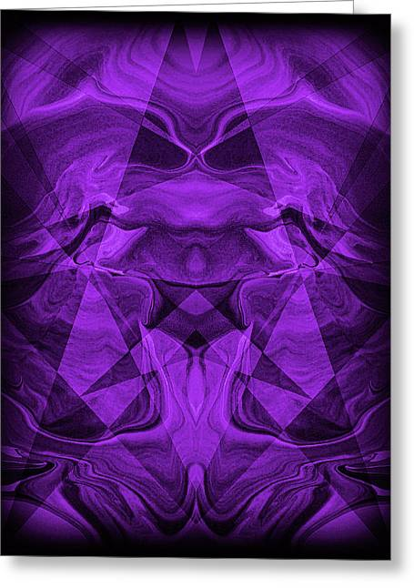 Great Mysteries Paintings Greeting Cards - Abstract 93 Greeting Card by J D Owen