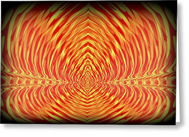 Vibrant Greeting Cards - Abstract 98 Greeting Card by J D Owen