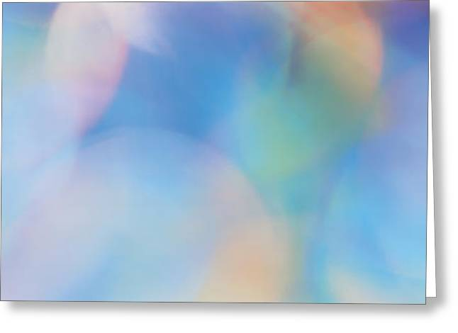Color Spectrum Greeting Cards - Abstract Greeting Card by Panoramic Images