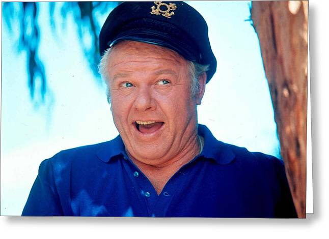 Hale Greeting Cards - Alan Hale Jr. in Gilligans Island  Greeting Card by Silver Screen