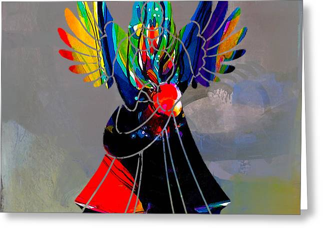 Den Greeting Cards - Angel Greeting Card by Marvin Blaine