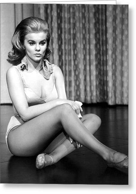 Ann Greeting Cards - Ann-Margret Greeting Card by Silver Screen
