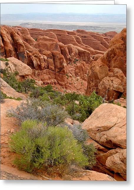 Arches National Park Greeting Cards - Arches National Park in Utah. Greeting Card by Rob Huntley