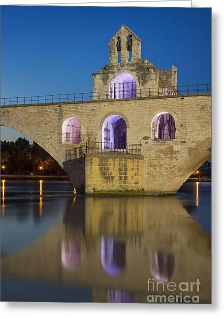 Nicholas Greeting Cards - Avignon Bridge Greeting Card by Brian Jannsen