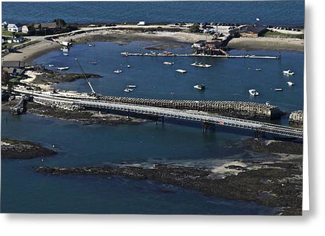Harpswell Greeting Cards - Bailey And Orrs Islands, Harpswell Greeting Card by Dave Cleaveland