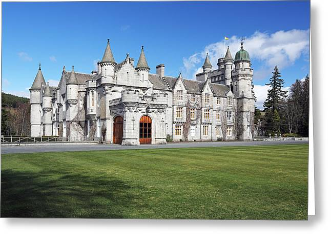 Balmoral Greeting Cards - Balmoral Castle Greeting Card by Grant Glendinning