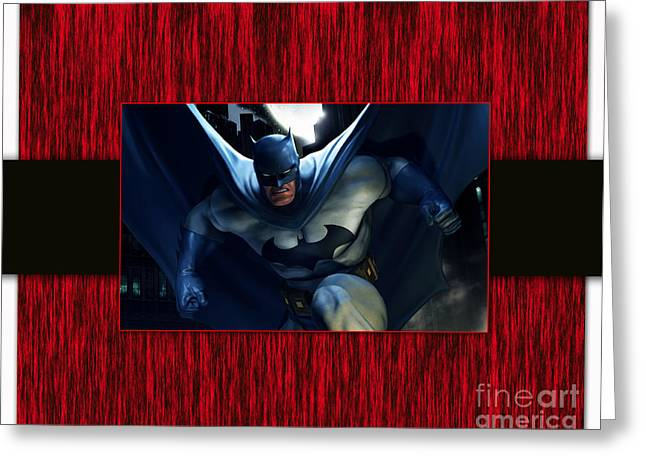 Batman Greeting Cards - Batman Greeting Card by Marvin Blaine