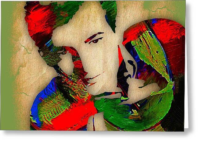 Bobby Darin Collection Greeting Card by Marvin Blaine